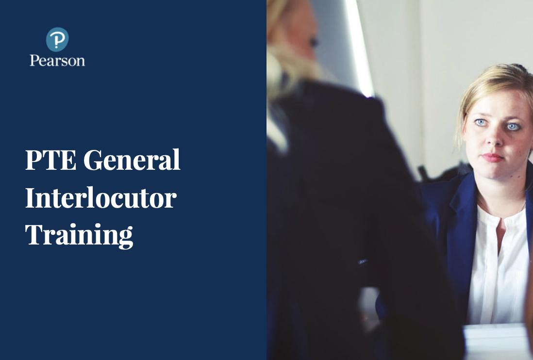 Pearson Interlocutor Training